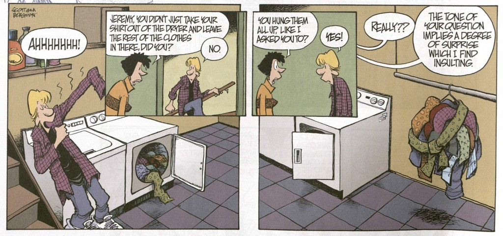 ZITS comic laundry